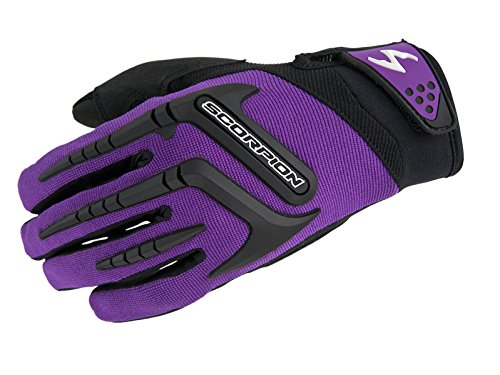 Scorpion Skrub Motorcycle Glove Womens Purple Size Medium