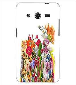 PRINTSWAG FLOWERS Designer Back Cover Case for SAMSUNG GALAXY CORE 2 G355H
