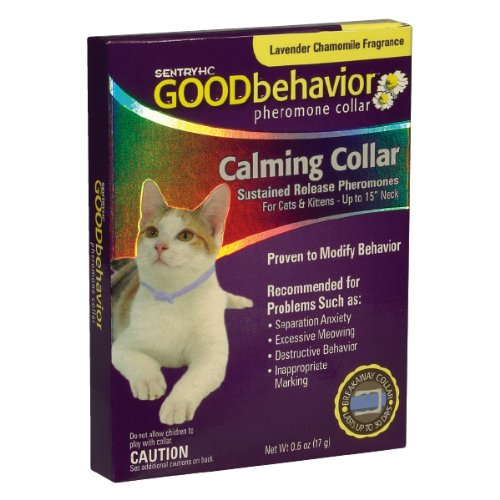 Good Behavior Pheromone Collar for Cats, 15 Inches