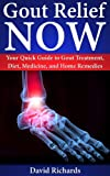 Gout Relief Now: Your Quick Guide to Gout Treatment, Diet, Medicine, and Home Remedies