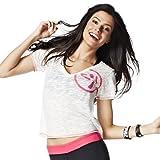 Acquista Zumba Fitness, Maglietta Donna Many Moons A-Glow Maglietta con scollo a V, Bianco (White), M