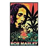 Bob Marley One Love Reggae Blacklight Poster New 1872 Blacklight Poster Print, 22x34