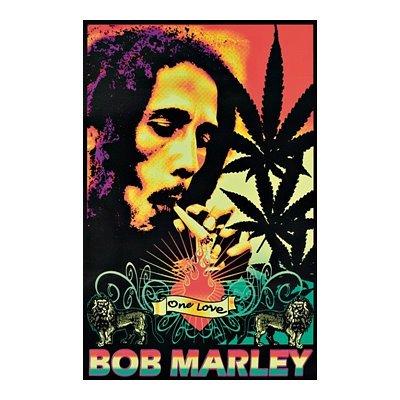 Amazoncom bob marley black light posters