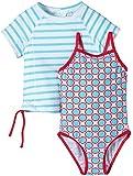Snapper Rock  Sandollar UV-Protective girls Swim Suit + Rashie Set