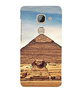 PrintVisa Travel Egypt Pyramids Design 3D Hard Polycarbonate Designer Back Case Cover for LeEco Le Max 2
