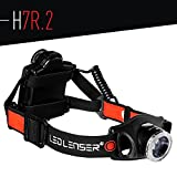 LED Lenser - H7R.2 Rechargeable Headlamp, Black