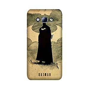StyleO Samsung Galaxy A8 Designer Printed Case & Covers (Samsung Galaxy A8 Back Cover) - Superhero Batman