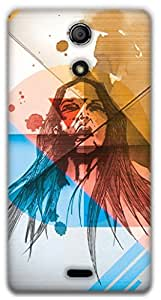 The Racoon Grip Wild hard plastic printed back case / cover for Sony Xperia ZR