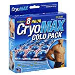 CryoMax Cold Pack, 8 Hour, Reusable, Medium