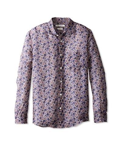 Marc Jacobs Men's Floral Long Sleeve Shirt