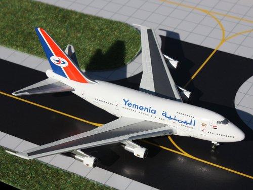 1: 400 ジェミニジェット Yemenia ボーイング 747SP (並行輸入)