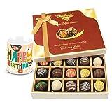 Chocholik Luxury Chocolates - Ultimate Festive Truffles Collection With Birthday Mug