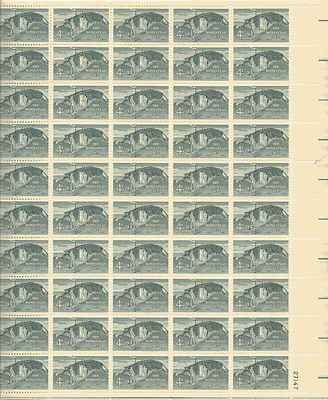 The Homestead Act Sheet of 50 x 4 Cent US Postage Stamps NEW Scot 1198