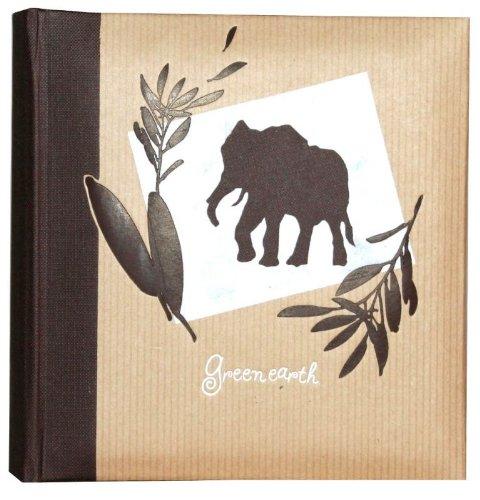 Fantaisie Nature Panodia Album photo Panodia Greenearth à pochette 10x15cm Album 600 photos - Couleur: bleu