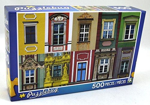 Puzzlebug 500 Piece Puzzle ~ Colorful Windows - 1