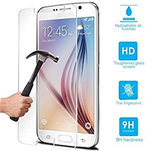 Priyul Fashion Tempered Glass Screen Guard for Samsung Galaxy S Duos 2 (Transparent)