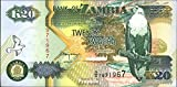billetes para coleccionistas: Sambia 36b unc 1992 20 Kwacha Eagles
