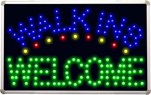 Led080 Walk Ins Welcome Led Neon Sign