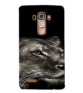 PrintVisa Animal Tiger Design 3D Hard Polycarbonate Designer Back Case Cover for LG G4