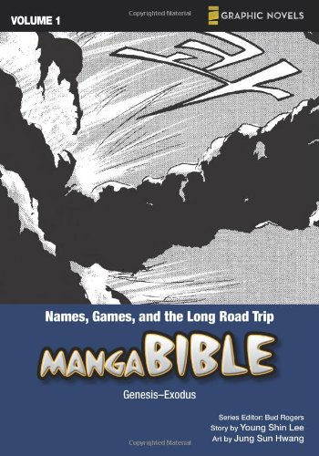 Manga Bible, Vol. 1: Names, Games, And The Long Road Trip (Genesis, Exodus) front-1023433