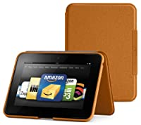 "Amazon Kindle Fire HD 7"" (Previous Generation) Standing Leather Case, Saddle Tan (will only fit Kindle Fire HD 7"", Previous Generation) by Amazon Digital Services, Inc"