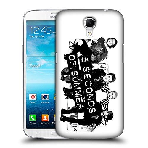 Offizielle 5 Seconds Of Summer Sofa BW Gruppenbild Derp Ruckseite Hülle für Samsung Galaxy Mega 6.3 I9200 thumbnail