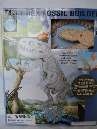 Our Planet T-Rex Dinosaur Fossil Builder