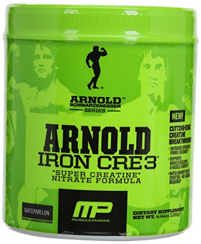 Arnold Schwarzenegger Series Cre3 30 Servings Supplement, Watermelon, 126 Gram (Arnold Iron Pump Pre Workout compare prices)