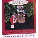 Hallmark 1993 Childs Fifth Christmas Keepsake Ornament QX5222