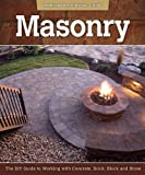 img - for Masonry: The DIY Guide to Working with Concrete, Brick, Block, and Stone (Homeowner Survival Guide) book / textbook / text book