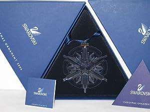 #!Cheap Swarovski 2006 Annual Snowflake / Star Christmas Ornament
