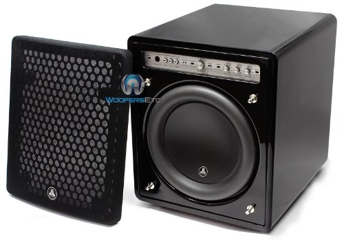 "F112 Fathom - Jl Audio 12"" Gloss Finish Amplified Home Audio Subwoofer"