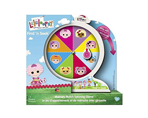Lalaloopsy Find 'N Seek - Memory Match Spinning Game