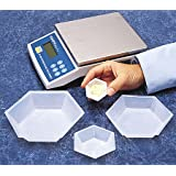 SEOH Plastic Hexagonal Weigh Boats Small Dish 100pk