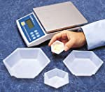 SEOH Plastic Hexagonal Weigh Boats Me...