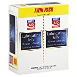 Rite Aid Pharmacy Lubricating Jelly, Personal Lubricant, Twin Pack, 2 - 4 oz (113 g) tubes 8 oz (226 g)