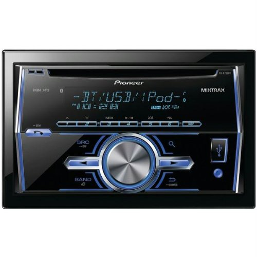 Pioneer Double-DIN Bluetooth Car Stereo Receiver with