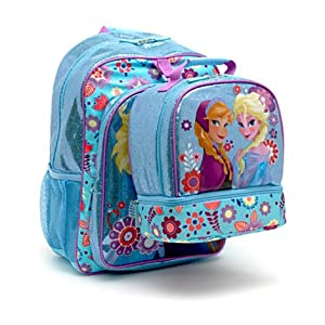 Disney Store Frozen Girls Backpack and Lunch Box Set by Disney