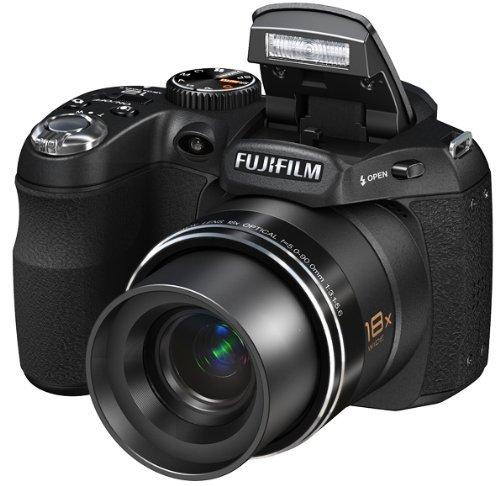 Fujifilm FinePix S2700 - 65SM50PQQAG - 12.2MP Digital Camera with 18x Optical Zoom, 3