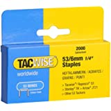 Tacwise Heavy Duty 53 Series Staples 6mm (2000)