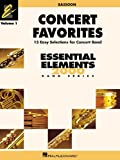 img - for CONCERT FAVORITES VOL1 BASSOON (Essential Elements 2000 Band) book / textbook / text book