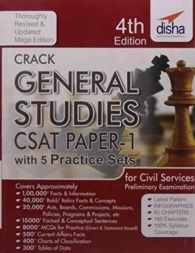 Crack General Studies CSAT - Paper 1 with 5 Mock Tests (IAS Prelims)