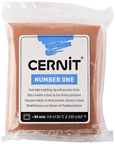 Cernit Modelliermasse Backofen Number One Caramel 62 g