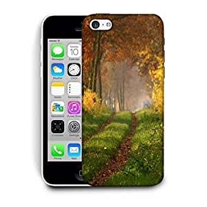 Snoogg Small Way In Forest Printed Protective Phone Back Case Cover For Apple Iphone 6 / 6S
