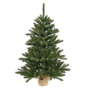 24 Quot Pre Lit Anoka Pine Artificial Christmas Table Top Tree