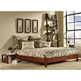 Leggett and Platt Fashion Bed Group Murray Platform Bed, Full, Mahogany