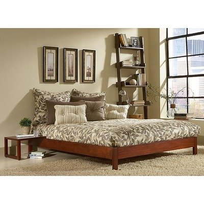 Leggett & Platt Fashion Bed Group Murray Platform Bed, King, Mahogany