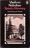 Speak Memory an Autobiography Revisited (0140029265) by Nabokov, Vladimir