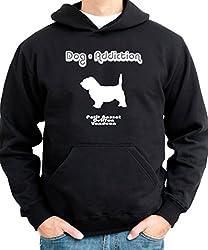 Dog Addiction Petit Basset Griffon Vendeen Mens Hoodie