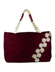 Arisha Kreation Co Casual Women's Handbag (Maroon )